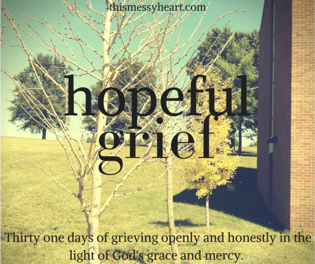 hopeful grief series header